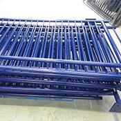 Powder Coated pedestrian barriers