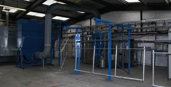 Thorndell New Powder Coating Plant
